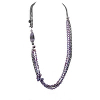 Rita Tesolin The Agate's Edge Necklace