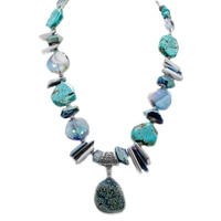Rita Tesolin Depth of Fiji Necklace