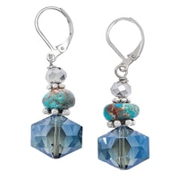 Rita Tesolin Depth of Fiji Earrings