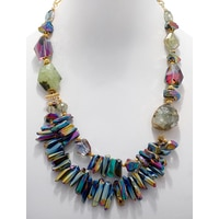 Rita Tesolin Crystal Forest Necklace