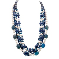 Rita Tesolin Princess Pearls Necklace