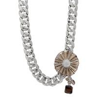 Rita Tesolin Crystal Bloom Necklace