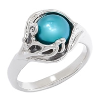 Hagit Sterling Silver Cultured Freshwater Pearl Ring