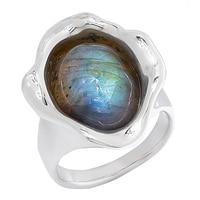 Hagit Sterling Silver Labradorite Ring