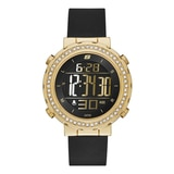 Skechers Ladies' Glitz Digital Watch - Black/Gold