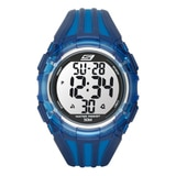 Skechers Men's Two Tone Digital Watch - Blue