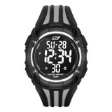 Skechers Men's Two Tone Digital Watch - Black/Grey