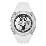 Skechers Men's Two Tone Digital Watch - White