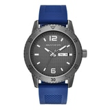 Skechers Men's Silicone Dial Watch - Blue