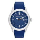 Skechers Men's Silicone Dial Watch - Blue/Grey