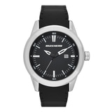 Skechers Men's Silicone Dial Watch - Black/Grey