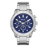 Relic Jordan Stainless Steel Bracelet Strap Chronograph Men's Watch