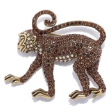 Heidi Daus Monkey See, Monkey Do Pin
