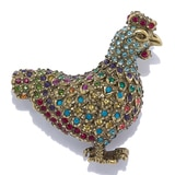 Heidi Daus Spring Chicken Pin