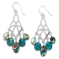 Barse Studio Sterling Silver Antigua Earrings