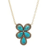 Barse Studio Stud Turquoise Necklace