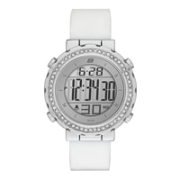 Skechers Ladies' Glitz Digital Watch - White/Silver