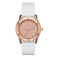 Skechers Ladies' Silicone Dial Watch - White