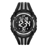 Skechers Men's Two Tone Digital Watch - Black/Grey