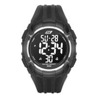 Skechers Men's Two Tone Digital Watch - Black