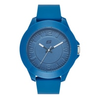 Skechers Men's Silicone Large Tonal Watch - Blue