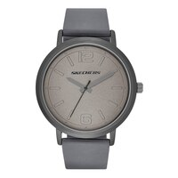 Skechers Men's Silicone Dial Watch - Grey
