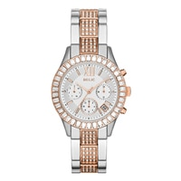 Relic Bailey Crystal Accent Bracelet Strap Chronograph Ladies' Watch