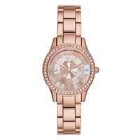 Relic Stacy Mother of Pearl & Crystal Women's Watch