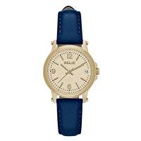 Relic Matilda Navy Blue Leather Strap Ladies' Watch