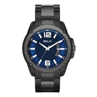 Relic Grant XL Stainless Steel Bracelet Strap Men's Watch