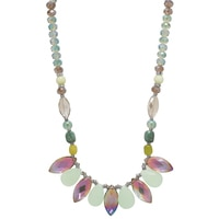 Ali-Khan Spring Petals Bib Necklace