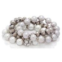 Ali-Khan Pearls of Spring 3-Piece Bracelet Set