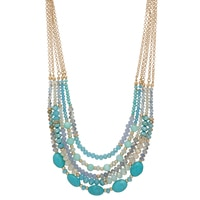Ali-Khan Softly Spring Mixed Necklace