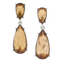 Ali-Khan Honey Bee in Spring Drop Earrings