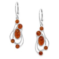 Amber Extraordinaire Amber Earrings