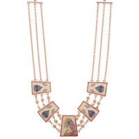 Amrita Sen Cosmic Eternal Love Radha Necklace