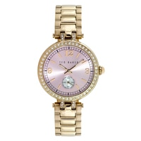 Ted Baker Ladies' Gold Tone Bracelet Watch