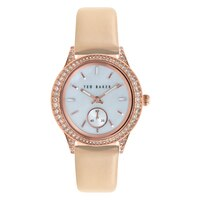 Ted Baker Ladies' Leather Strap Watch
