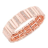 Bracelet élastique Oval The Top All de Anne Klein