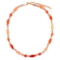 Napier Sun Kissed Multi Stone Necklace