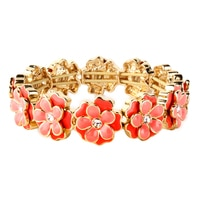 Bracelet élastique avec fleurs espacées Spring Forward de Napier