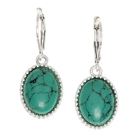 Nine West Trail Mixer Oval Drop Earrings