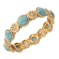 Nine West Eden Rock Stone Stretch Bracelet