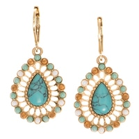 Nine West Eden Rock Drop Earrings
