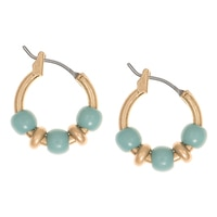 Nine West Eden Rock Small Hoop Earrings