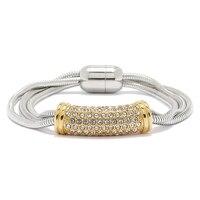 Emma Skye Multi Strand Cable Crystal Bracelet