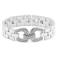 Emma Skye Crystal Panther Link Bracelet