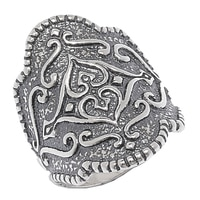 Designs from Nazareth Sterling Silver Oxidized Finish Ring