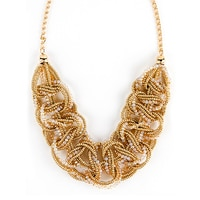 GLAMOUR Twisted Fate Choker Necklace