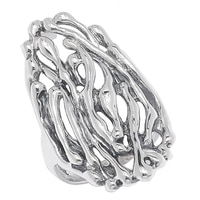 Hagit Jewellery Sterling Silver Ring